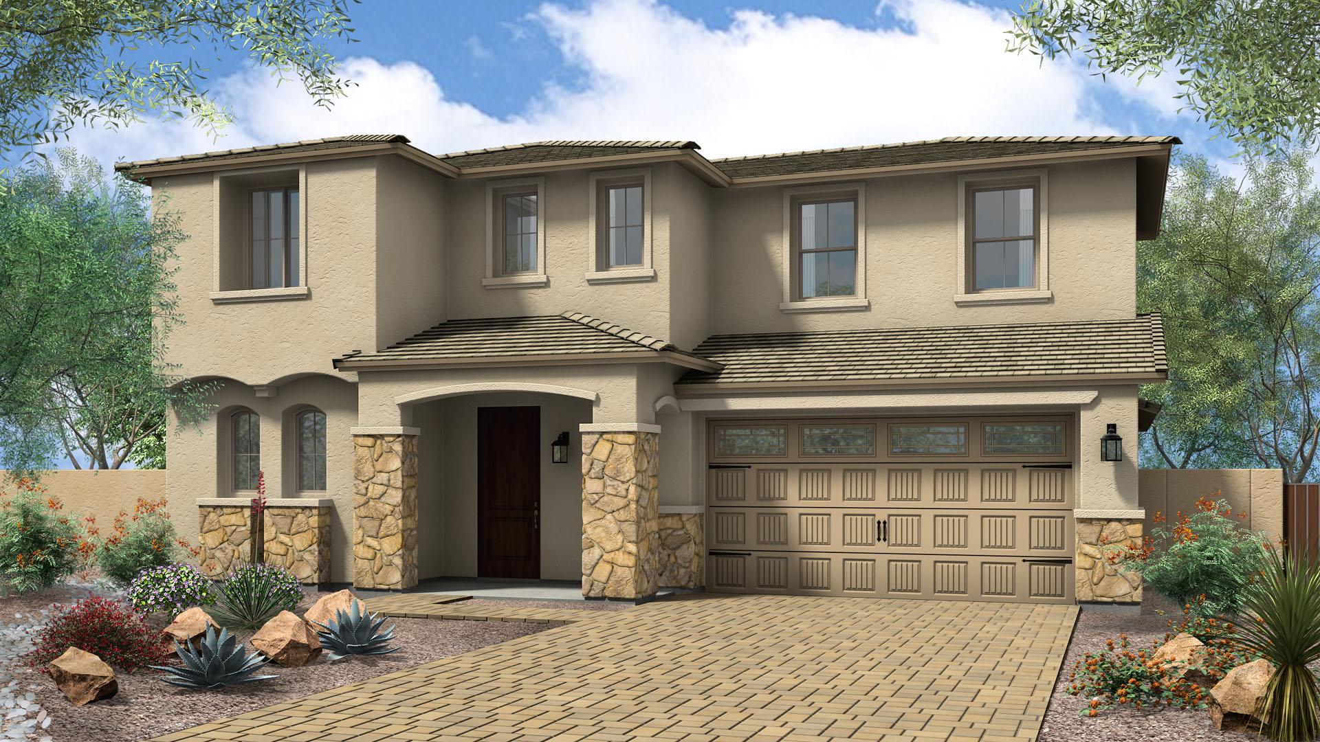 Miramar Elevation C - Carmel Estates